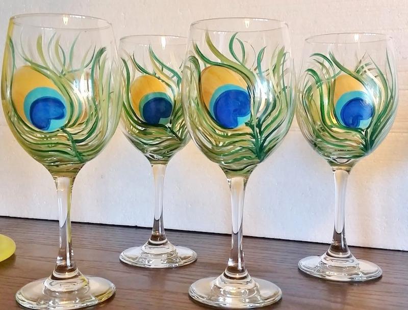 Peacock Glass Design